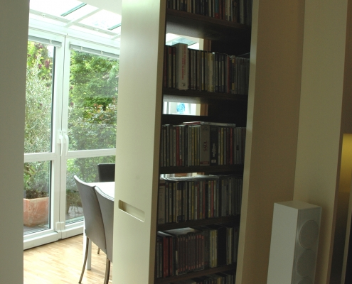 Möbeldesign Medienwand