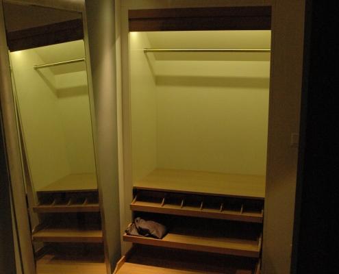 Möbeldesign Einbauschrank