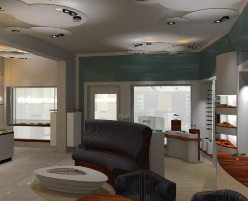 Möbeldesign Ladeneinrichtung